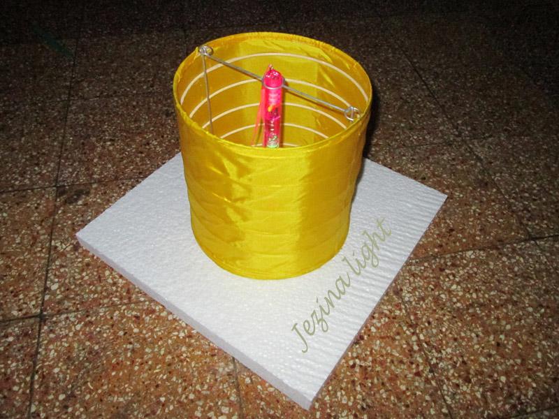 Lampion Apung Silinder