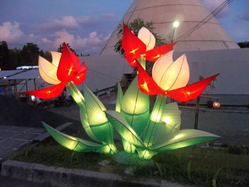 Lampion Karakter Bunga