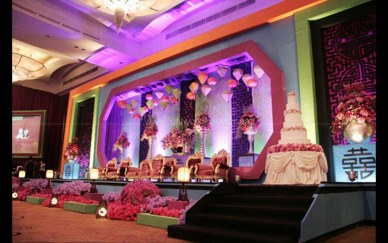 Contoh Dekorasi Wedding Menggunakan Lampion