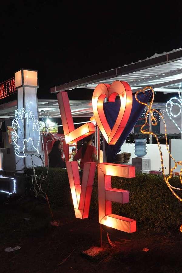 Lampion Karakter Love
