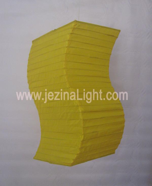 Lampion Kotak Lengkung