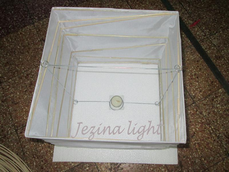 Lampion Apung Kotak