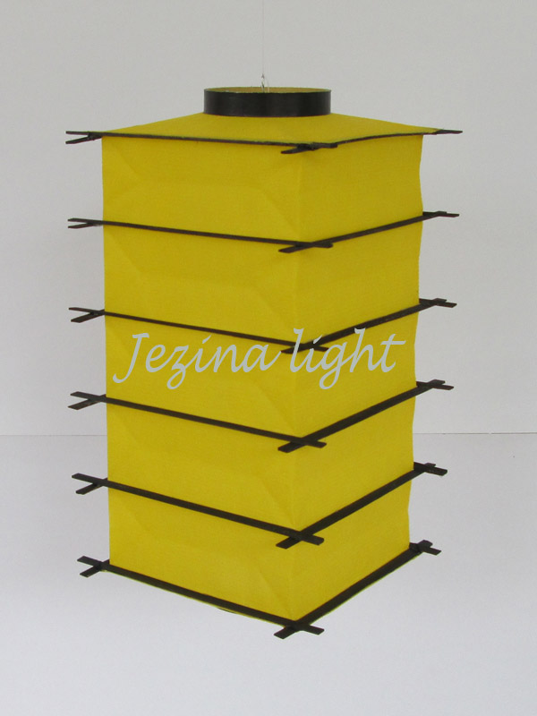 lampion gantung Jepang warna kuning, jakarta, jual
