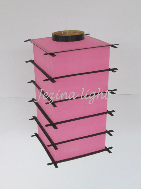 Lampion Jepang Pink