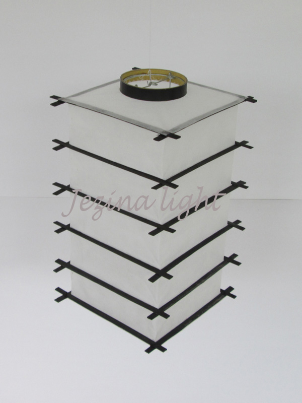 jual lampion gantung jepang putih jakarta surabaya bandung